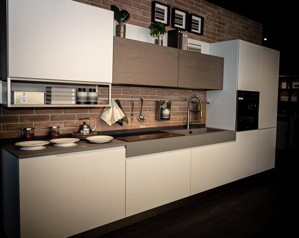 Cucine Moderne - Luna Laccata 1